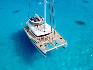 Sailing Catamaran Ocean View Crewed Yacht Charter