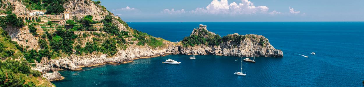 Sublime Yachts Charter Destination | Amalfi Coast